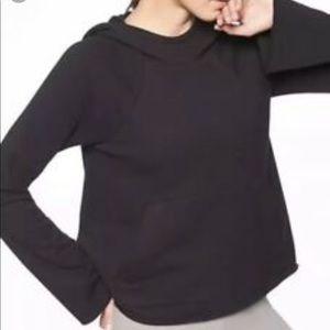 Athleta French terry pique sweatshirt hoodie